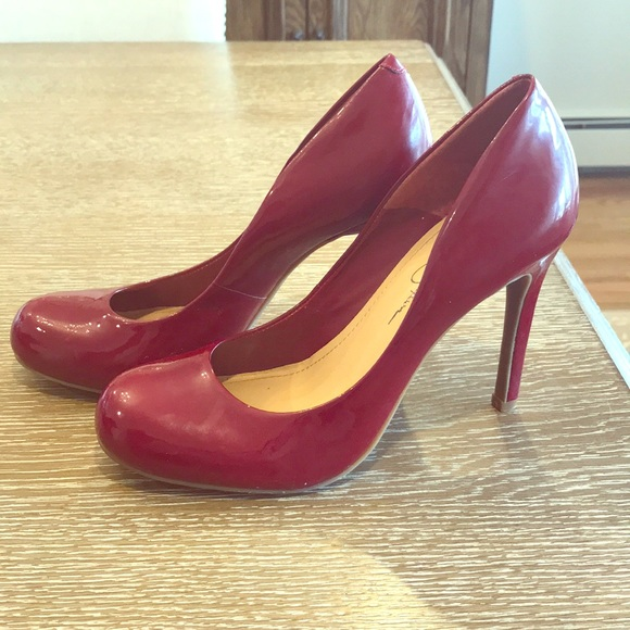 506c9780194 Red patent leather high heels